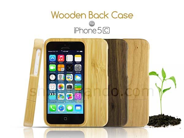 The Wooden iPhone 5c Case
