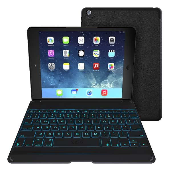 ZAGG ZAGGkeys Folio Keyboard Case for iPad Air