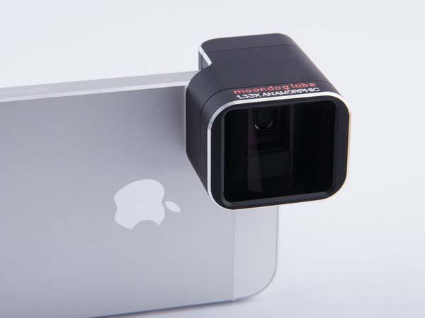 1.33x Anamorphic Lens for iPhone 5/5s