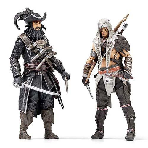 Assassin's Creed IV Black Flag Themed Action Figures