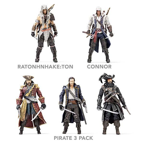 Assassin S Creed Iv Black Flag Themed Action Figures Gadgetsin
