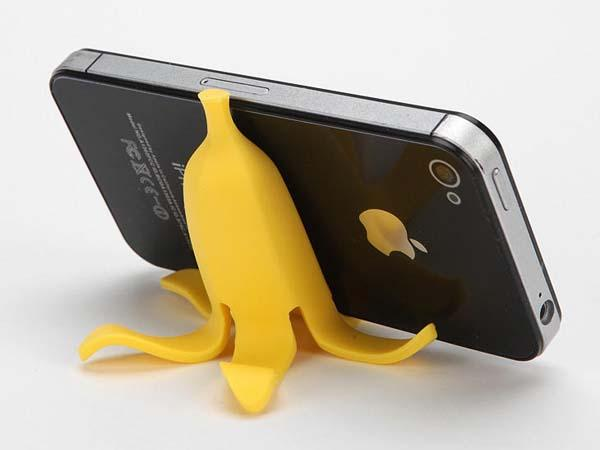 Banana Peel Phone Stand