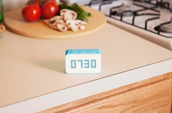 Cascade Kitchen Timer with Clock
