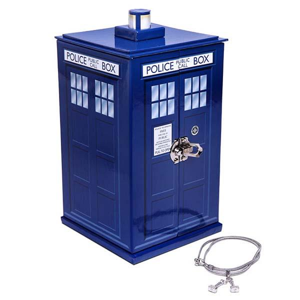 Doctor Who TARDIS Shaped Jewelry Box