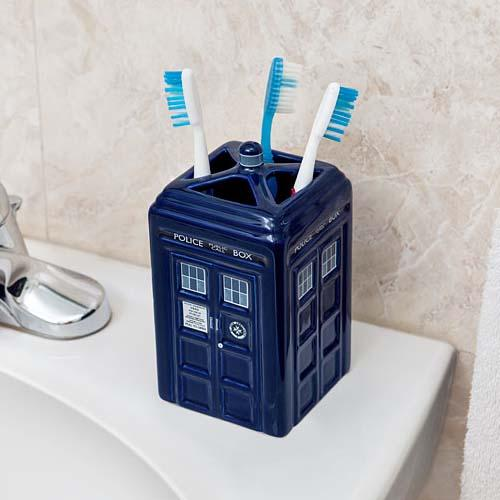 Doctor Who TARDIS Toothbrush Holder