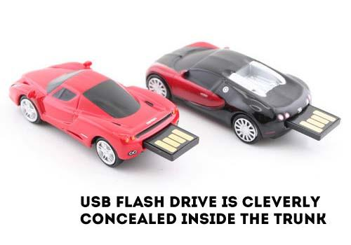 Extreme Gear Supercar USB Flash Drive