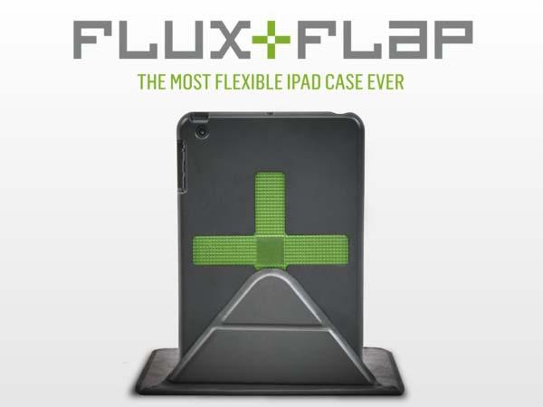 Flux+Flap iPad Case with Magnetic Stand for Unlimited Angles