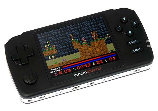 GCW-ZERO Open Source Handheld Gaming Console