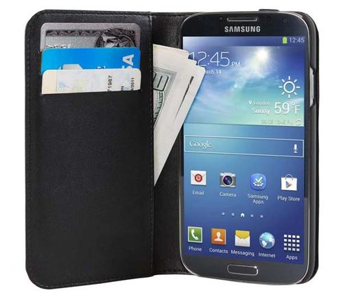 Hex Icon Wallet Galaxy S4 Case