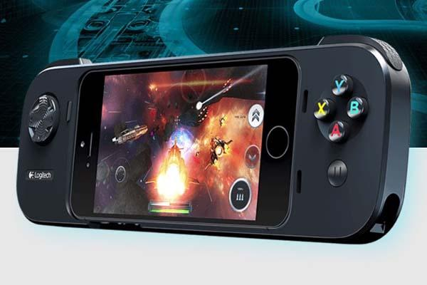 Logitech Powershell iOS 7 Game Controller with Backup Battery