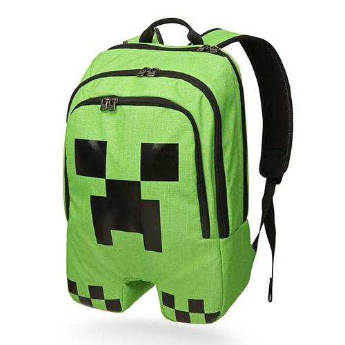 Minecraft Creeper Inspired Backpack