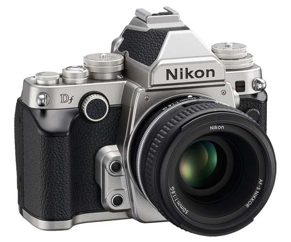 Nikon Df Retro Full-Frame DSLR Camera Announced