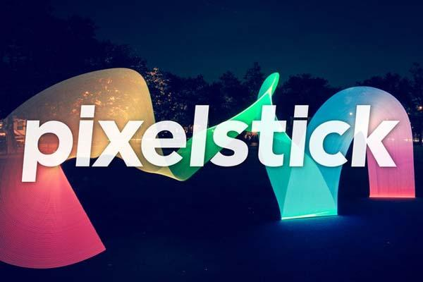 Pixelstick LED Light Bar for Amazing Light Painting