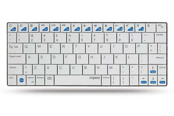 Rapoo E6300 Ultra-Slim Bluetooth Keyboard for iPad