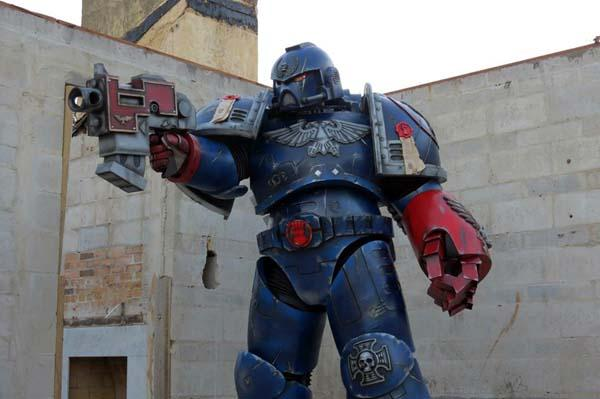 The Awesome Warhammer 40K Space Marine Costume