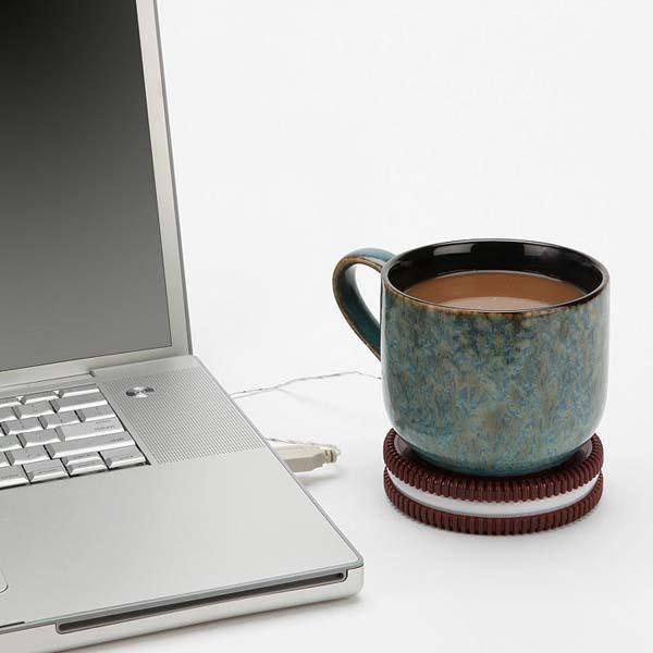 The Cookie Shaped USB Mug Warmer