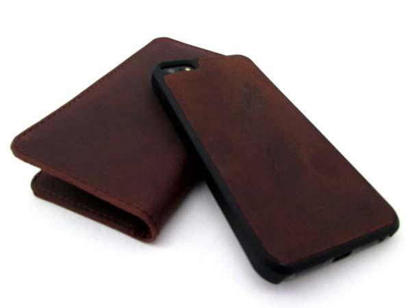 The Handmade Leather Wallet iPhone 5s Case
