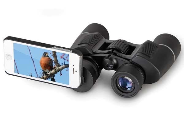 The iPhone Friendly Binoculars
