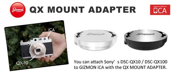 The QX Mount Adapter for iCA iPhone Cases