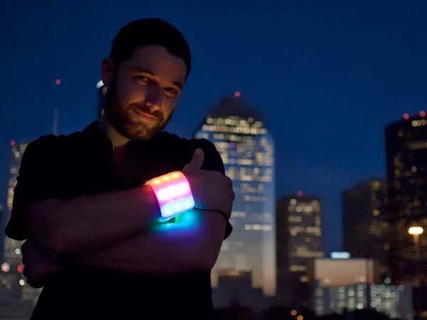 The Sebbo Colorful LED Wristband