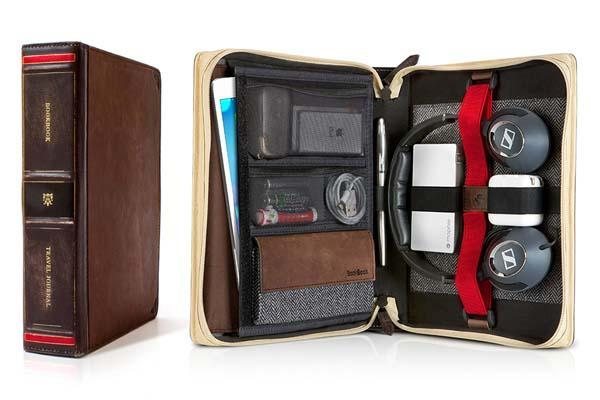 Twelve South BookBook Travel Journal Leather iPad Case