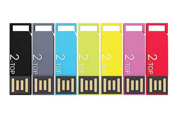 2-Top Dual Sided USB Flash Drive