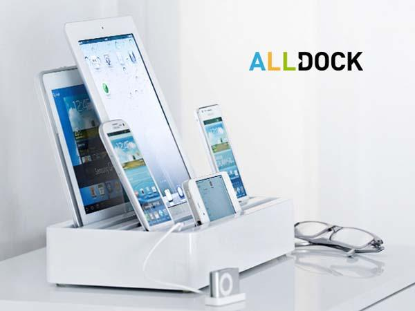 All-Dock Universal USB Charging Station