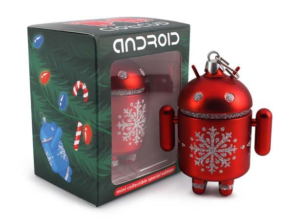 Android Mini Figure Christmas Ornaments