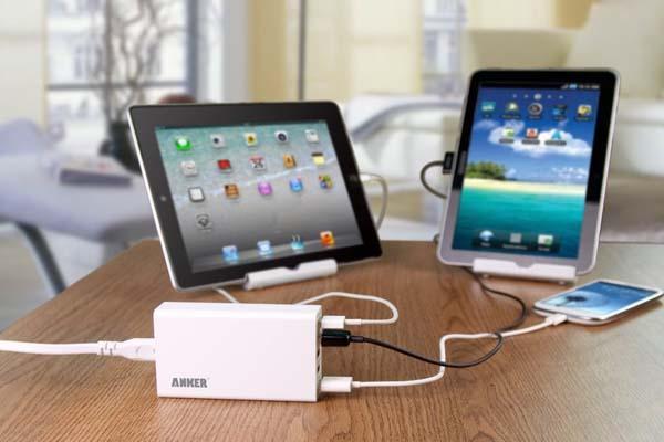 Anker 25W 5-Port Desktop USB Charger