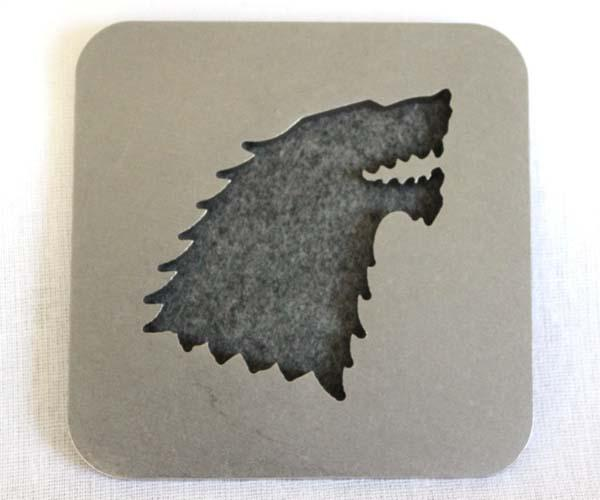Game of Thrones Carbon Steel Coaster Set