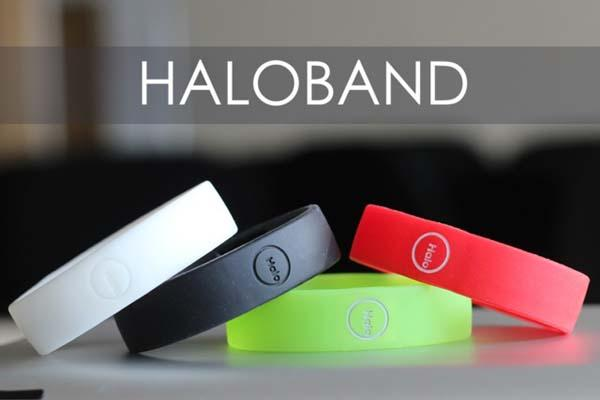 Haloband Smart Wrist Band for Smartphone with NFC