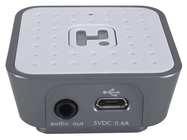 iHome iBT52 Bluetooth Music Receiver with Speakerphone
