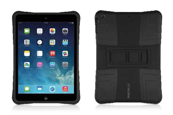Macally Hardshell iPad Air Case with Flexible Grip