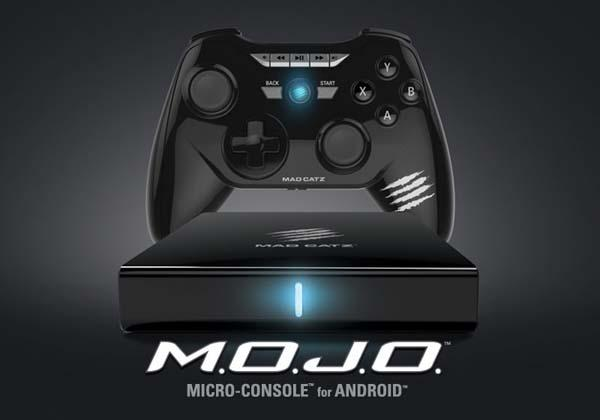 Mad Catz M.O.J.O. Android Game Console