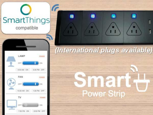 Smartphone Controlled Smart Power Strip