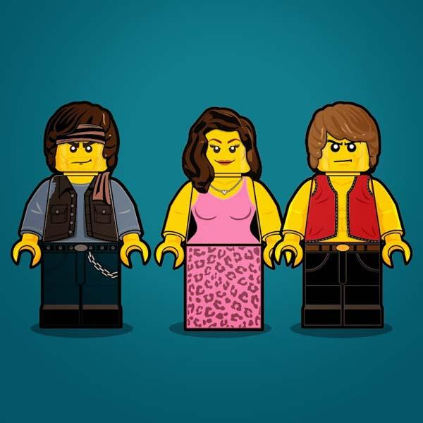 The 80′s LEGO Mini Figures