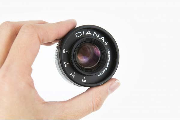 The Glass Diana DSLR Camera Lens