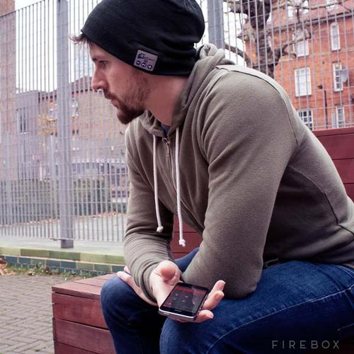 The Hands-Free Bluetooth Beanie Hat