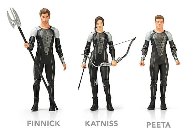 The Hunger Games Catching Fire Action Figures