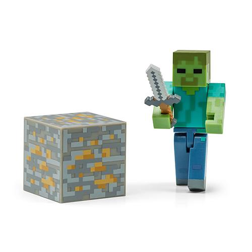 The Minecraft Mini Figures