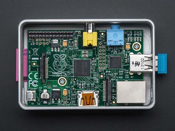 uniPi Aluminum Raspberry Pi Case