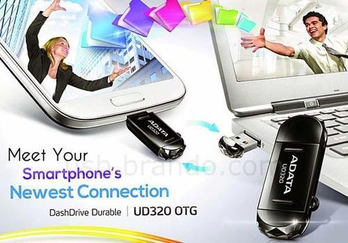 A-Data DashDrive UD320 OTG USB Flash Drive