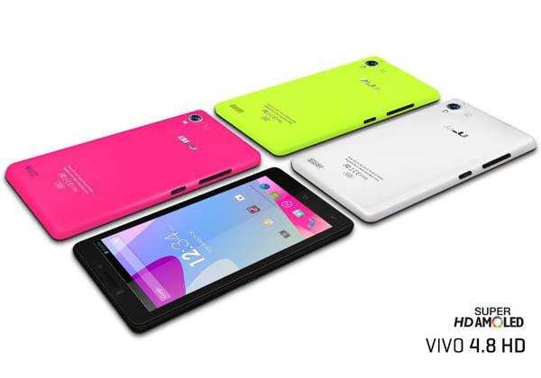 BLU VIVO 4.8 HD Android Phone Announced