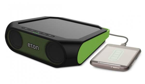 Eton Rugged Rukus II Bluetooth Speaker with Solar Charger