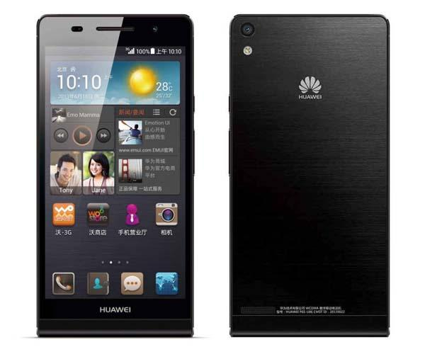 Huawei Ascend P6 S Launched