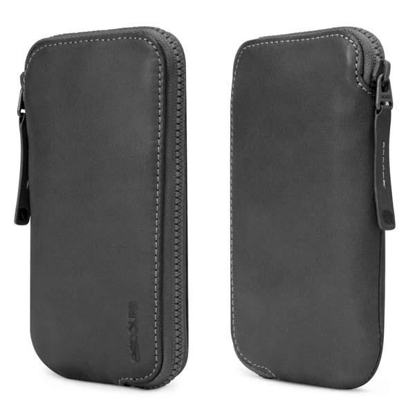 Incase Leather Zip Wallet iPhone Case | Gadgetsin