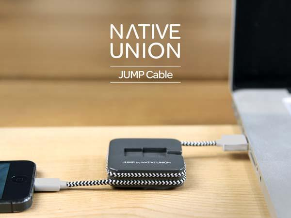 JUMP Backup Battery with Charging Cable and Organizer