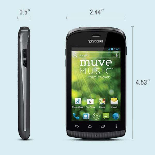 Kyocera Hydro PLUS Waterproof Android Phone