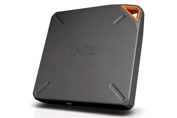 LaCie Fuel Wireless Hard Drive Announced