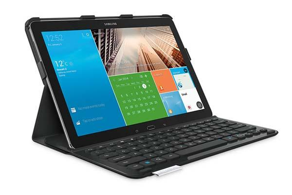 Logitech PRO Keyboard Case for Galaxy TabPRO and Galaxy NotePRO